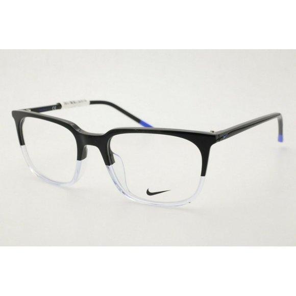 Nike Eyeglasses NK 7250 019 Black Clear Eyeglasses
